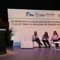 """Imparten la conferencia """"El Derecho a la igualdad entre mujeres y hombres y la Ley para la igualdad de género del Estado de Tamaulipas""""."""
